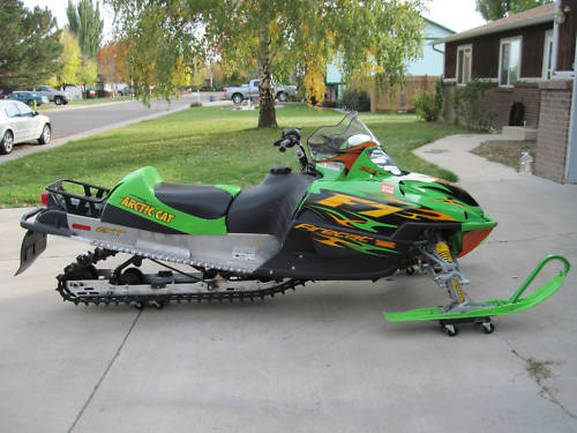 F Arctic Cat Snowmobile